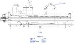 13.5 mtr Barge