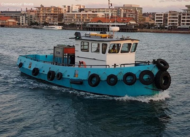 13.8 mtr Tug For Sale