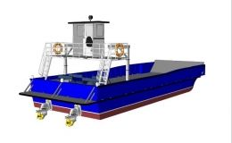 15.5 mtr LCT - Bunker barge