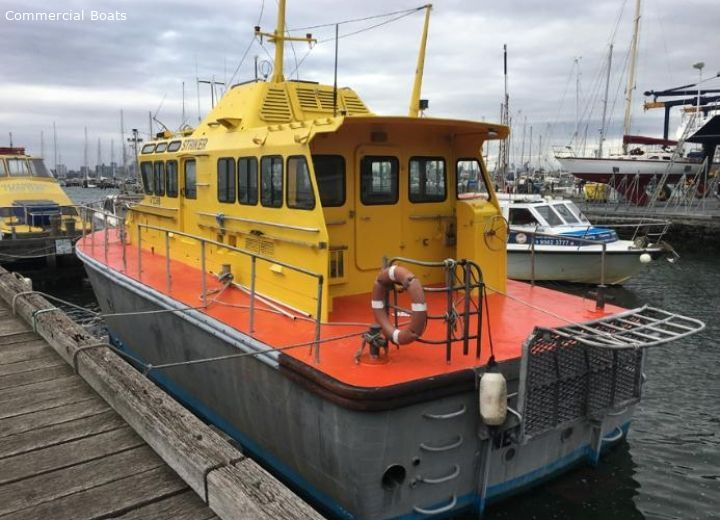 Commercial Boats For Sale 16 4 mtr Crew - Pilot Boat