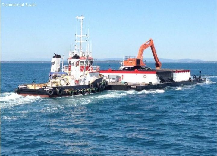 Commercial Boats For Sale - Dumb - 54 mtr Dumb Barge 80 ton