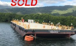 55 mtr Flat top barge