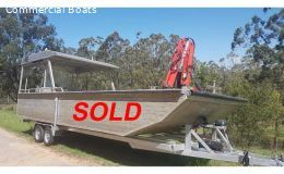 7.5 mtr Work boat SOLD