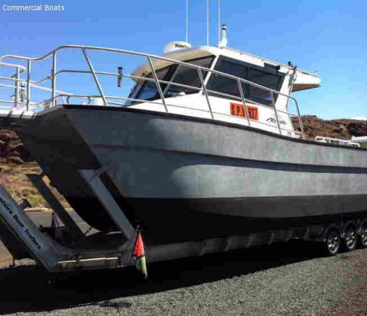 Commercial Work Boats For Sale - Punt / Trailer | 2017