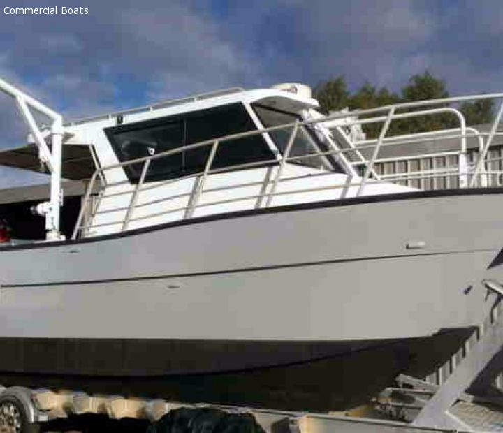 Commercial Boats For Sale - Trailer - Abcat Charter or Crew