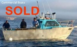 Commercial and Charter fishing Boat