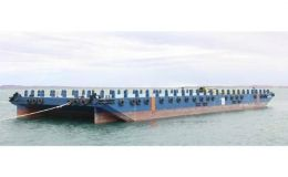 Deck Cargo Barge 76 mtr