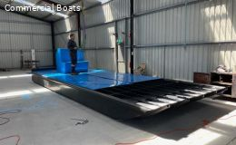 New Build 8.5 mtr Work Punt in HDPE