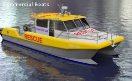 Cat Patrol Boat - Solid Collar