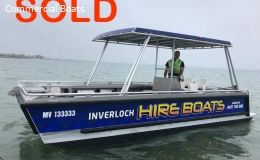 SOLD 6.5 mtr Heavy duty Work Punt