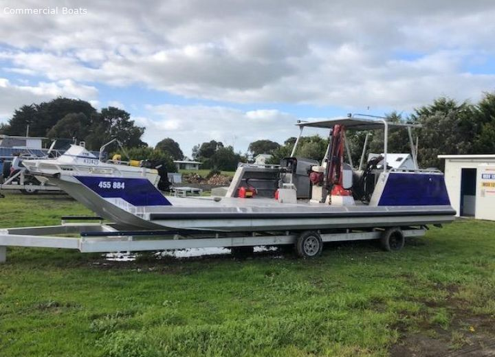 Commercial Boats For Sale - Crew Utility - Work Barge 10 mtr